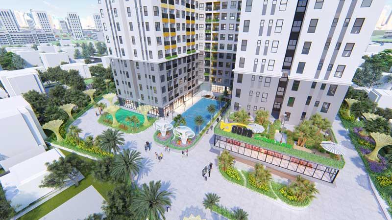 tiện ích nội khu căn hộ bcons green view