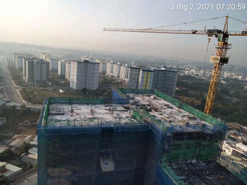 Tiến độ thi công dự án Bcons Green View 03/02/2021