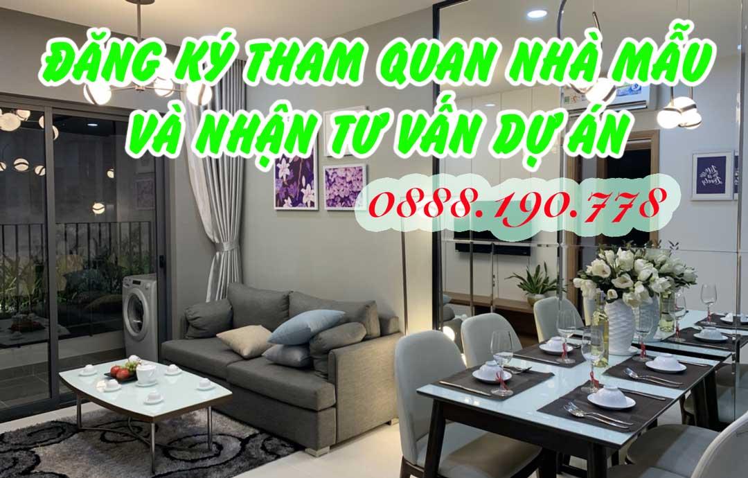 đăng ký tham quan căn hộ mẫu Bcons Green View