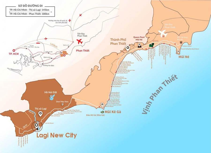liên kết vùng Lagi New City