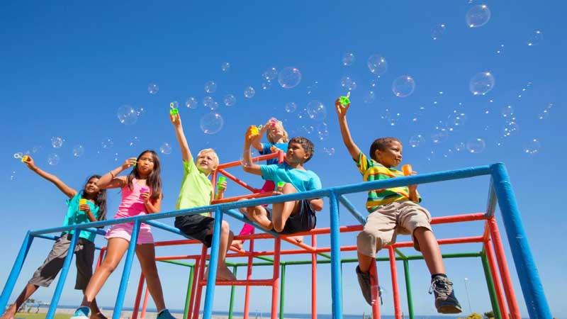 khu vui chơi trẻ em tại lavita charm thủ đức