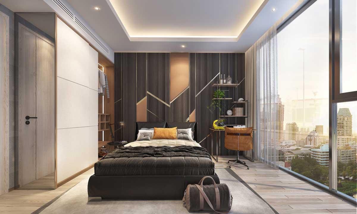 Phòng ngủ căn 2 phòng ngủ