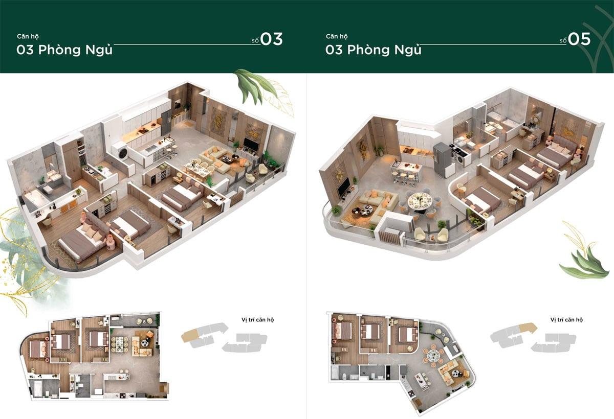 thiết kế căn hộ thảo điền green
